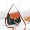 พร้อมส่ง กระเป๋าถือและสะพายข้างผู้หญิง แฟชั่นเกาหลี รหัส Yi-0018 สีเขียว 1 ใบ