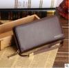พร้อมส่ง กระเป๋าสตางค์ใบยาว คลัทซ์และสายคล้องมือ แฟชั่นเกาหลี ยี่ห้อ baellerry รหัสBA-S1217-2 สีน้ำตาล 1 ใบ*ไม่มีกล่อง
