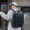 พร้อมส่งขายส่งกระเป๋าเป้สะพายหลังเดินทาง ใส่คอมพิวเตอร์ 14 นิ้ว ใส่หนังสือ เป้ใบใหญ่ ผู้ชายเแฟขั่นเกาหลี รหัส Man-209 สีดำลายพราง 1 ใบ สำเนา