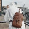 พร้อมส่ง กระเป๋าผู้ชายคาดอก คาดไหล่ คาดหลัง สะพายลำรอง แฟชั่นเกาหลี กระเป๋ากีฬา รหัส Man-610 สีน้ำตาล 1 ใบ