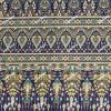 ผ้าพิมพ์ทอง no.8681 ลายไทยเชิงเดียว 2 เมตร
