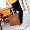 พร้อมส่ง กระเป๋าถือสะพายลำลอง กระเป๋าช้อปปิ้ง แฟชั่นเกาหลีผู้ชาย ใส่Tab 12 นิ้วรหัส Man-9869 สีกาแฟ 1 ใบ