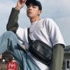 Pre-order กระเป๋าผู้ชายคาดอกคาดไหล่ คาดหลัง สะพายลำรอง แฟชั่นเกาหลี กระเป๋ากีฬา รหัส Man-7728 สีดำ