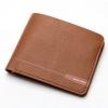 พร้อมส่ง กระเป๋าสตางค์ใบสั้นผู้ชาย นักธุรกิจ แฟชั่นเกาหลี ยี่ห้อ baellerry รหัส BA-DR011 สีน้ำตาล1 ใบ *ไม่มีกล่อง