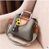 พร้อมส่ง ขายส่งกระเป๋าผู้หญิง แฟชั่นเกาหลี ถือและสะพายข้าง แต่งตัวบี Yi-0202 สีเทา 1 ใบ