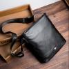 พร้อมส่ง กระเป๋าผู้ชาย Messenger สะพายข้างผู้ชายใบเล็ก ใส่ tab 8 นิ้ว แฟขั่นเกาหลี รหัส Man-9960 สีดำ 2 ใบ