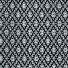ผ้าลายไทย LT0025_bw ขาวดำ