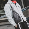 Pre-order กระเป๋าผ้าไนลอนกันน้ำ คาดไหล่ คาดอก ใส่ ipad 8 นิ้ว ผู้ชายแฟขั่นเกาหลี รหัส Man-7726 สีดำลายพราง
