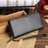 พร้อมส่ง กระเป๋าสตางค์ใบยาว คลัทซ์และสายคล้องมือ แฟชั่นเกาหลี ยี่ห้อ baellerry รหัสBA-S1217-1 สีดำ 1 ใบ*ไม่มีกล่อง