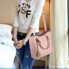 พร้อมส่ง ขายส่งกระเป๋าผู้หญิงถือและสะพายข้าง แฟชั่นเกาหลี Sunny-569 สีชมพู 1 ใบ