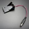 รางถ่าน 9V พร้อมหัว Jack 5.5x2.5mm สำหรับ Arduino