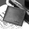 พร้อมส่ง กระเป๋าสตางค์ผู้ชาย ใบสั้นหนังPU นักธุรกิจ แฟชั่นเกาหลี ยี่ห้อ baellerry รหัส BA-D1301 สีดำ 2 ใบ * ไม่มีกล่อง