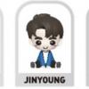 GOT7 - GOTOON BABY FIGURE (TURBULENCE VER.) ระบุ jinyoung