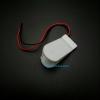 รางถ่านกระดุม CR2032 สีขาว ใส่ได้ 2 ก้อน 6V (ก้อนละ 3V) พร้อมสวิตช์