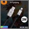 สายชาร์จ WUW X62 (2 เมตร) For iPhone 5/6/7/8/X ราคา 190 บาท ปกติ 470 บาท