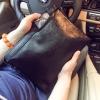 Pre-order กระเป๋าคลัทซ์ผู้ชายแฟขั่นเกาหลี ใส่ ipad 8 นิ้ว พร้อมสายคล้องมือ รหัส Man-2539-7 สีดำ