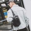 Pre-order กระเป๋าผ้าไนลอนกันน้ำ คาดไหล่ คาดอก ใส่ ipad 8 นิ้ว ผู้ชายแฟขั่นเกาหลี รหัส Man-7733 สีดำ