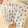 สติ๊กเกอร์ชุด : Bonnie series stickers