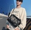 พร้อมส่ง กระเป๋าผู้ชายสะพายข้าง Messenger แฟชั่นเกาหลี รหัส Man-1015 สีดำ 1 ใบ