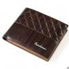 พร้อมส่ง กระเป๋าสตางค์ใบสั้นผู้ชาย นักธุรกิจ แฟชั่นเกาหลี ยี่ห้อ baellerry รหัส BA-BR017 สีน้ำตาลเข้ม 1 ใบ