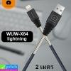 สายชาร์จ WUW-X64 iPhone 2 เมตร ราคา 125 บาท ปกติ 310 บาท