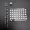 WS2812 NeoPixel Matrix 8x5 WS2812B RGB 40 LED Shield