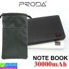 Power bank Remax Proda NoteBook 30000 mAh + ถุงผ้า ราคา 579 บาท ปกติ 1,800 บาท