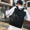 พร้อมส่งขายส่งกระเป๋าเป้หนังสะพายหลัง เป้ใบใหญ่ เป้เดินทางใส่คอมพิวเตอร์ 14 นิ้ว ใส่หนังสือ ผู้ชายเแฟขั่นเกาหลี รหัส Man-5259 สีดำ 1 ใบ