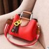 Pre-order ขายส่งกระเป๋าผู้หญิง แฟชั่นเกาหลี ถือและสะพายข้าง แต่งตัวบี Yi-0202 สีแดง