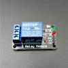 24V 1 Channel Relay Low-Level Trigger Relay Module (with LED - PCB สีดำ มีช่องสกรูให้ยึด)