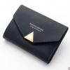 พร้อมส่ง กระเป๋าสตางค์ใบสั้นขนาดเล็ก กระเป๋าสตางค์นักเรียนน่ารัก แฟชั่นเกาหลี ยี่ห้อ baellerry รหัส BA-N1275 สีดำ 2 ใบ