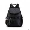 พร้อมส่ง กระเป๋าเป้สะพายหลังผู้หญิง แถมจี้ป๋อม รหัส sunny-102 สีดำ 3 ใบ