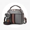 พร้อมส่ง กระเป๋าถือและสะพายข้างสตรี รหัส KO-320 สีเทา 1 ใบ*แถมจี้ป๋อม