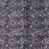 ผ้าถุงขาวดำ ec13049bk