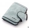 พร้อมส่ง กระเป๋าสตางค์ใบสั้นขนาดเล็ก กระเป๋าสตางค์นักเรียนน่ารัก แฟชั่นเกาหลี ยี่ห้อ baellerry รหัส BA-N2346 สีฟ้าอ่อน 1 ใบ