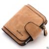 พร้อมส่ง กระเป๋าสตางค์ใบสั้นขนาดเล็ก กระเป๋าสตางค์นักเรียนน่ารัก แฟชั่นเกาหลี ยี่ห้อ baellerry รหัส BA-N2346 สีน้ำตาล 1 ใบ