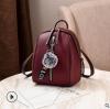 พร้อมส่ง กระเป๋าเป้ใบเล็ก ทรงหลังเต่า แฟชั่นสไตล์เกาหลี Yi-1001 สีม่วงมะเหมี่ยว 1 ใบ *แถมจี้ป๋อม