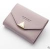 พร้อมส่ง กระเป๋าสตางค์ใบสั้นขนาดเล็ก กระเป๋าสตางค์นักเรียนน่ารัก แฟชั่นเกาหลี ยี่ห้อ baellerry รหัส BA-N1275 สีม่วงอ่อน 1 ใบ