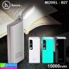 Hoco B27 Power bank แบตสำรอง 15000 mAh ราคา 420 บาท ปกติ 1,050 บาท