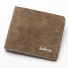 พร้อมส่ง กระเป๋าสตางค์ใบสั้น กระเป๋าเงินหนัง กระเป๋าเงินแฟชั่นเกาหลี ยี่ห้อ baellerry รหัส BA-DR012 สีกากี 2 ใบ
