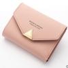 พร้อมส่ง กระเป๋าสตางค์ใบสั้นขนาดเล็ก กระเป๋าสตางค์นักเรียนน่ารัก แฟชั่นเกาหลี ยี่ห้อ baellerry รหัส BA-N1275 สีชมพู 1 ใบ