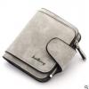 พร้อมส่ง กระเป๋าสตางค์ใบสั้นขนาดเล็ก กระเป๋าสตางค์นักเรียนน่ารัก แฟชั่นเกาหลี ยี่ห้อ baellerry รหัส BA-N2346 สีเทาอ่อน 1 ใบ