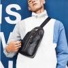 พร้อมส่ง กระเป๋าผู้ชายคาดไหล่ คาดอก Messenger ใส่ ipad 8 นิ้ว แฟชั่นเกาหลี รหัส Man-7709 สีดำ 1 ใบ