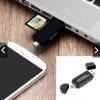 USB OTG to USB 2.0 Adapter SD Card Reader