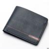 พร้อมส่ง กระเป๋าสตางค์ใบสั้นผู้ชาย นักธุรกิจ แฟชั่นเกาหลี ยี่ห้อ baellerry รหัส BA-DR011 สีน้ำเงิน 1 ใบ *ไม่มีกล่อง