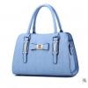 พร้อมส่ง กระเป๋าผู้หญิงถือและสะพายข้างแฟชั่นสไตล์ยุโรป เรียบหรู สไตล์ Chanel รหัส Yi-8885 สีฟ้า 1 ใบ