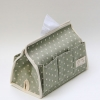 Tissue Case (Green / dot)