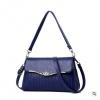 พร้อมส่ง กระเป๋าผู้หญิงใบเล็ก แฟชั่นสไตล์เกาหลี เรียบหรู Yi-1701 สีน้ำเงิน 2 ใบ