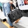 Pre-order กระเป๋าถือและสะพายไหล่ผู้ชาย ใส่คอมพิวเตอร์ 14 นิ้ว แฟขั่นเกาหลี รหัส Man-16425-2 สีดำลายพราง *ผ้าไนลอนกันน้ำ