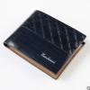พร้อมส่ง กระเป๋าสตางค์ใบสั้นผู้ชาย นักธุรกิจ แฟชั่นเกาหลี ยี่ห้อ baellerry รหัส BA-BR017 สีน้ำเงินเข้ม 1 ใบ